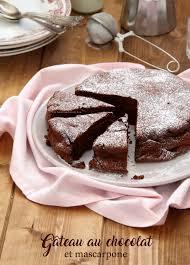 cuisiner le mascarpone gâteau au chocolat et mascarpone recette de cyril lignac les