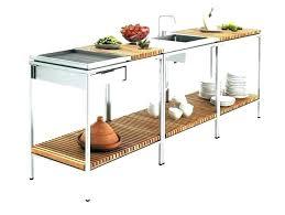 meuble cuisine teck meuble cuisine exterieur meuble cuisine exterieur cuisine cuisine