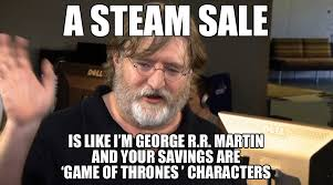 Gabe Newell Memes - steam summer sale 2017 5 signs that it s almost here emilio g祿mez