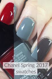 chanel spring 2017 swatches emblematique washed denim androgyne