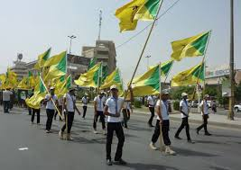 Hezbollah Flag Jerusalem Israel Sees Mass Hezbollah Incursion In Future Fight