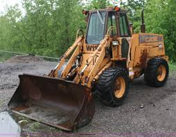1987 case w11b wheel loader item 4652 sold june 28 gove