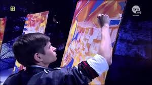 magical speed painter amazing got talent star youtube