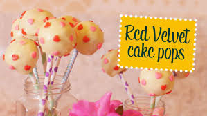 red velvet cake pops o chef e a chata youtube