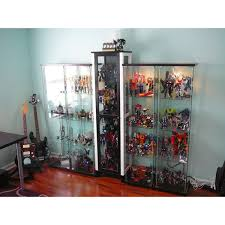 Wall Mounted Glass Display Cabinet Singapore Detolf Glass Door Cabinet Brown Furniture Source Philippines