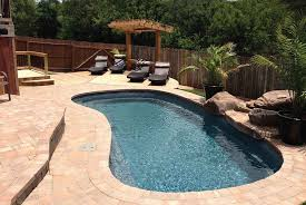 Backyard Leisure Pools by Leisure Pools Fiberglass Composite Swimming Pools Tiki Pool And Spa