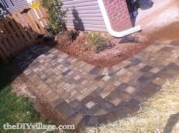 Brick Patio Diy How To Make A Brick Patio On Uneven Ground Patio Outdoor Decoration