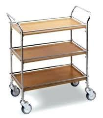 chariot cuisine chariot de cuisine en bois chariot de cuisine gallery of chariot