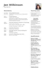 Samples Of Resumes For Teachers by Head Of Resume Samples Visualcv Resume Samples Database