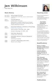 Educational Resume Samples by Head Of Resume Samples Visualcv Resume Samples Database