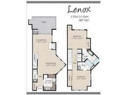 The Lenox Floor Plan Sterling Pointe Beaverton Or Apartment Finder