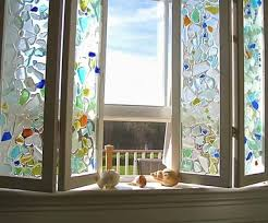 Home Window Decor 17 Creative Diy Home Decorations With Colored Glass And Sea Glass
