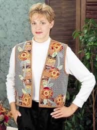 thanksgiving vest quilting vests autumn vest free quilting pattern