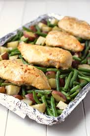 Ideas For Dinner For Kids One Pan Honey Garlic Chicken And Vegetables Healthy Ideas For Kids