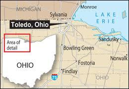 toledo ohio map fbi the of the toledo terror cell