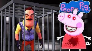 minecraft peppa pig exe takes neighbours house