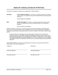 notice of cancellation of contract template u0026 sample form