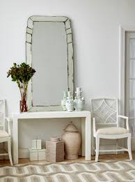 White Lacquer Sofa Table by Parsons Console Table White Bungalow 5