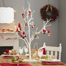 twig display wish tree 76cm white decorative festive wedding