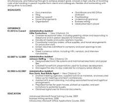 Resume Samples Administrative Assistant Examples Of Office Assistant Resumes Administrative Assistant