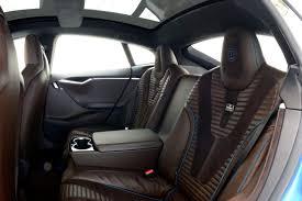 Tesla Interior Model S Brabus Zero Emission Division Unveils Tesla Model S