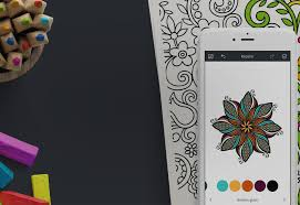 coloring book app recolor helps you destress on the go