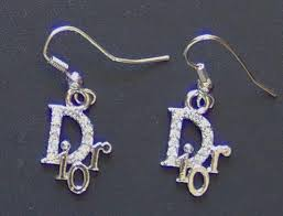 cd earrings designer store chanel christian cd tiffnay platinum