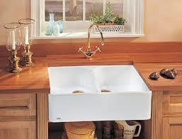 Franke Double Bowl Fireclay Sinks - Fireclay apron front kitchen sink