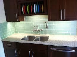 Kitchen Backsplash Green Kitchen 32 17 Subway Tile Green Glass Kitchen Backsplash White