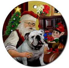 bulldogs dogbreed gifts bulldog cards ornaments