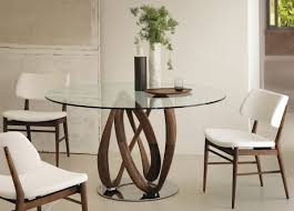 Modern Glass Dining Room Table Dining Tables Stunning Modern Round Dining Tables 60 U0027 U0027 Round
