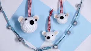 how to make polar ornaments