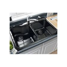 american standard kitchen sinks discontinued american standard 7145 001 345 bisque double basin americast kitchen