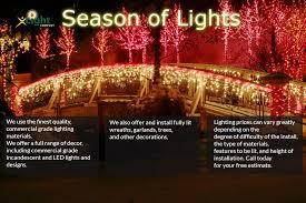 lights installation utah by x light company home