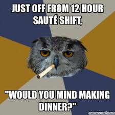 Line Cook Memes - out line cook