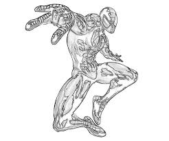 black spiderman coloring pages color spiderman black