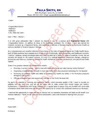 Community Health Nurse Resume Registered Nurse Resume Cover Letter Cover Letter For Oncology