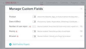 custom fields vs tags use cases asana community