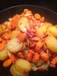 cuisiner des carottes la poele poêlée carottes et pomme de terre à l actifry ou pas et