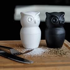 owl item tasty owl salt pepper grinder white by qualy furniture u0026 home