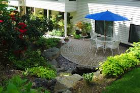 Patio Inspiration by Garden Design With Backyard Patio Deck Ideas Your Home Hgtv From