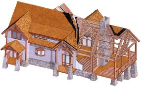 true timber frame homes