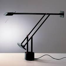 le bureau artemide artemide tizio table light black arredare