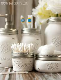 bathroom set ideas jar bathroom storage accessories jar crafts