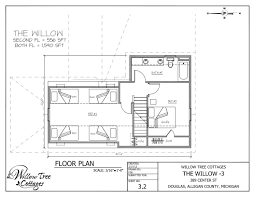Willow Floor Plan the willow cottage willow tree cottages