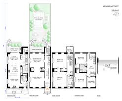 new museum floor plan 182 year old brooklyn heights home comes with award winning