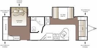 Keystone Rv Floor Plans 2010 Keystone Rv Outback Series M 260 Fl Specs And Standard