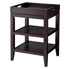 Table With Removable Tray Black I Target