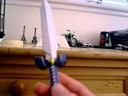 Master Sword Papercraft - ocarina of time master sword papercraft