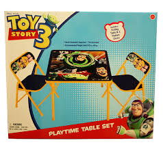 toy story activity table toy story activity table set qvc com